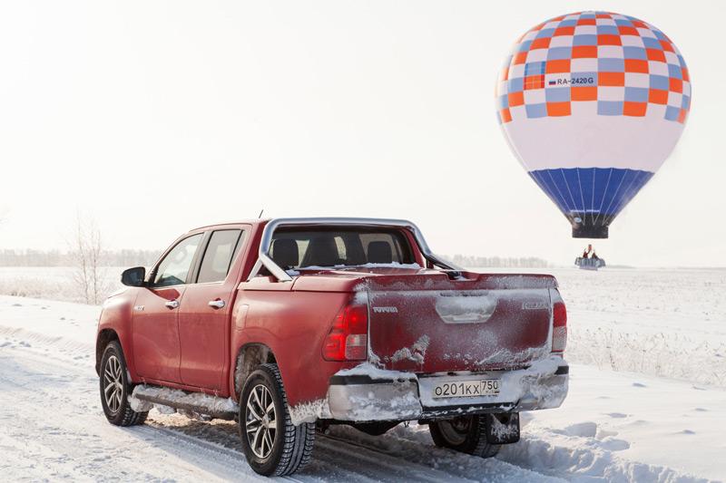 Toyota Hilux и рекорд Конюхова 2016