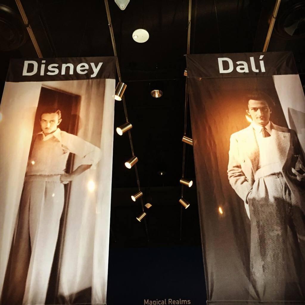 Выставка, посвященная дружбе и совместному творчеству двух талантов -  Сальвадора Дали и Уолта Диснея.
