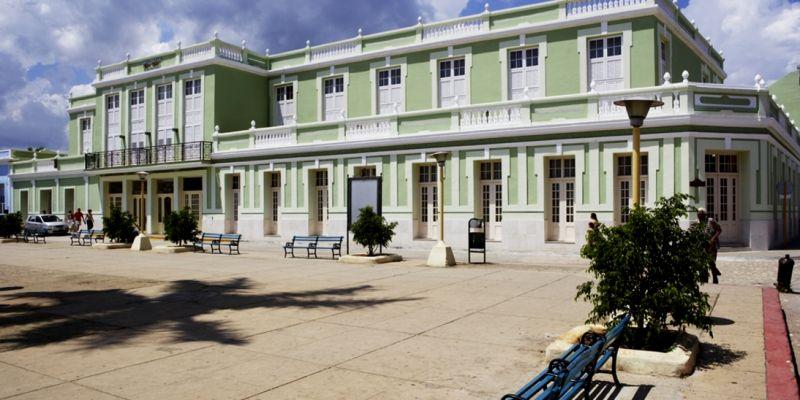 Здание 5-звездочного отеля эпохи испанской колонизации.