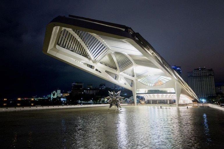 Новый музей в Рио-де-Жанейро приглашает посетителей в мир будущего.