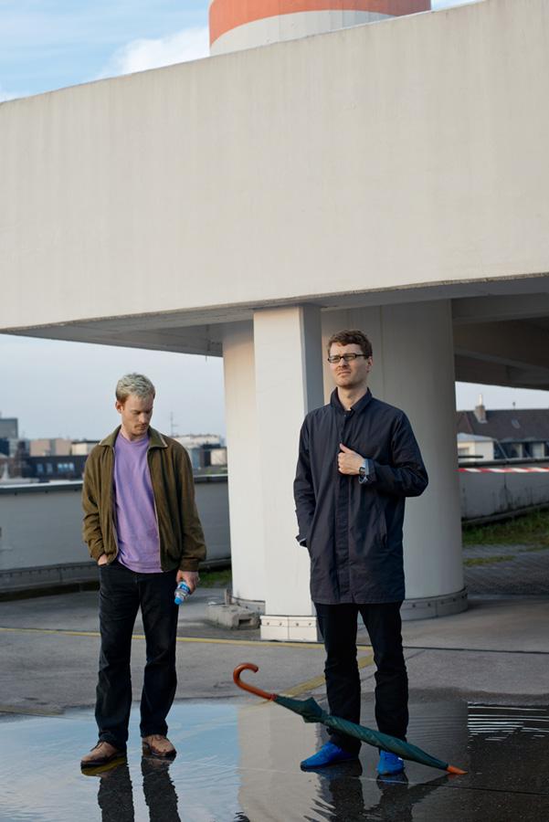 Победители премии BMW Art Joourney Хеннинг Фер и Филипп Рюр.
