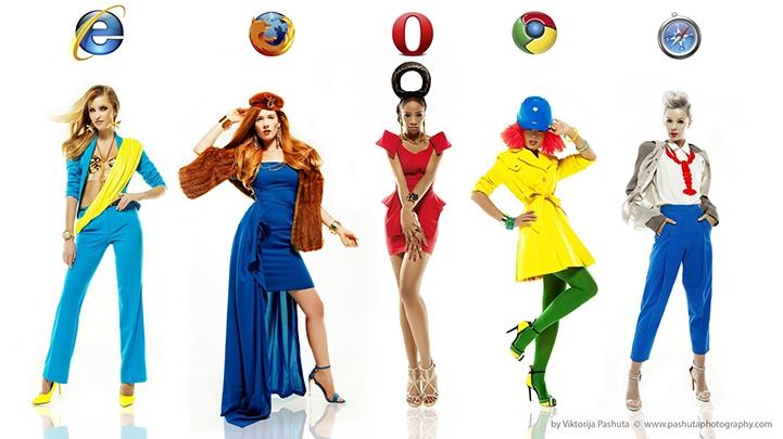Девушки браузеры