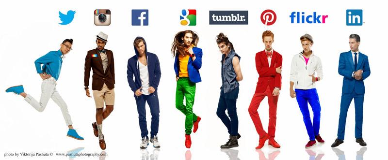 Парни-социальные сети от Виктории Пашута