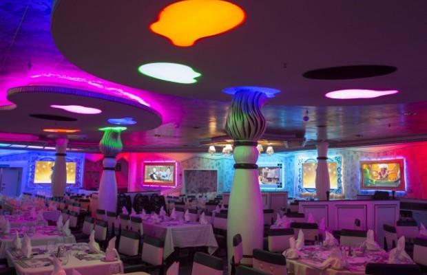 Ресторан в лайнере
