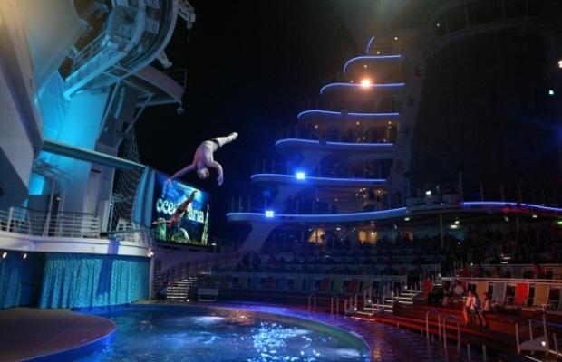 Развлечения на круизном лайнере