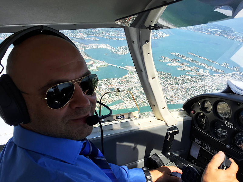 Пилот Андрей Борисевич