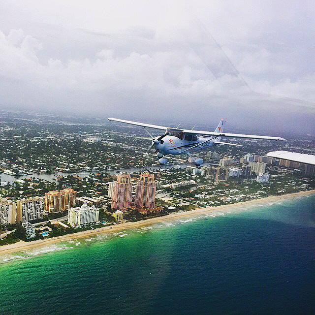 Полет над Майами