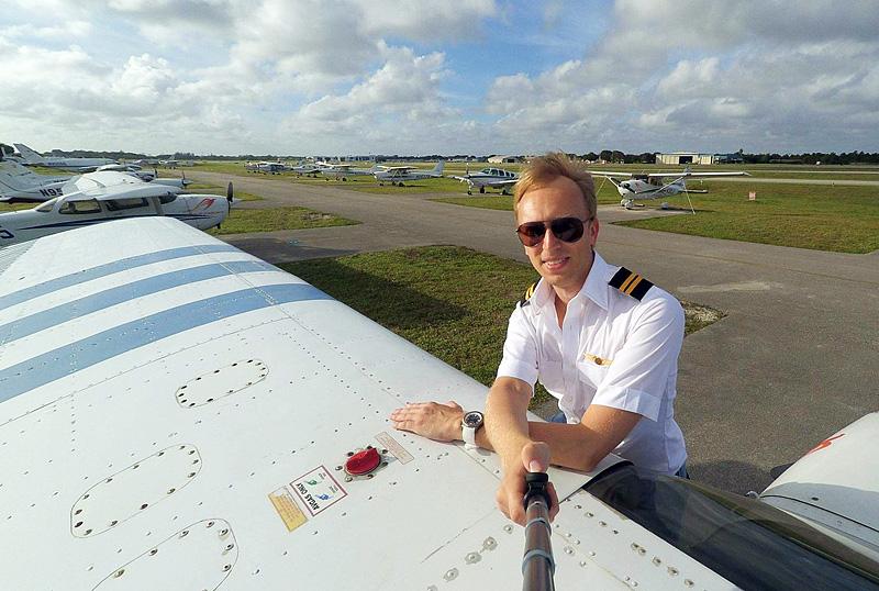 Пилот в Майами