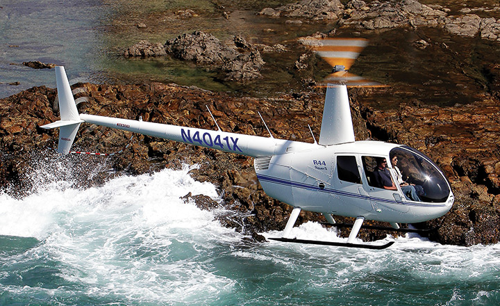 Robinson R-44. Фото: Robinson Helicopter Company.
