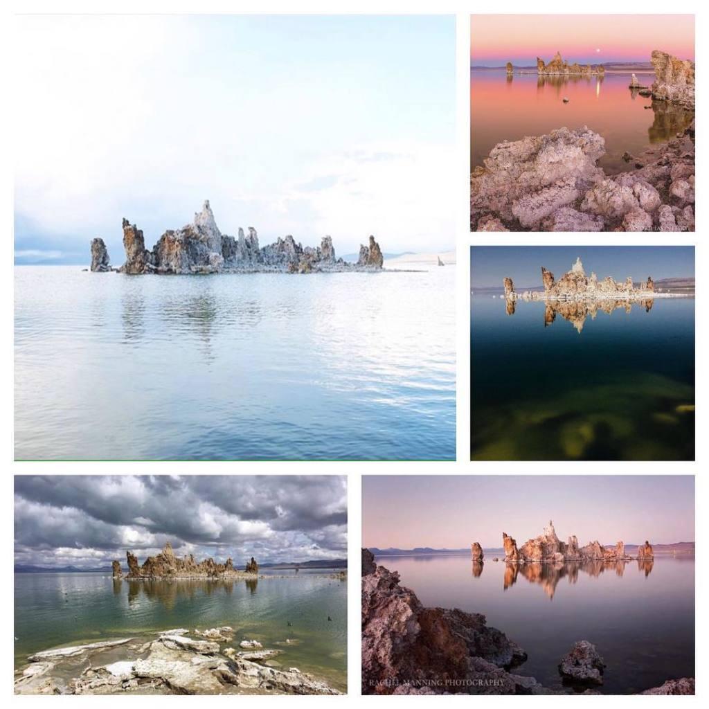 Озеро Моно.