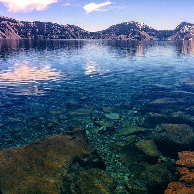 Озеро Кратер.
