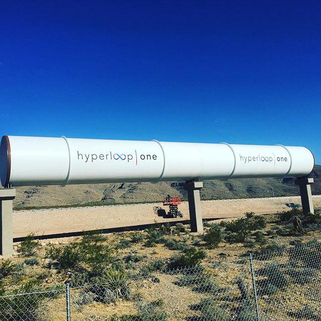 трубопровод Hyperloop компании Hyperloop One