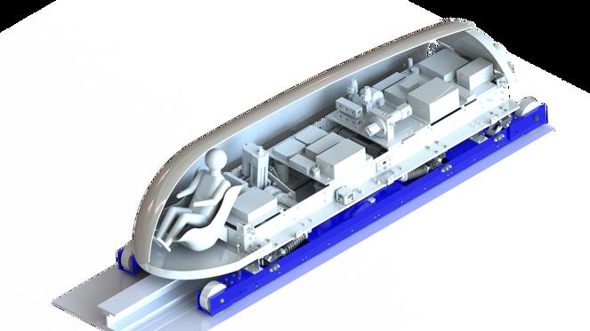 Капсула Hyperloop