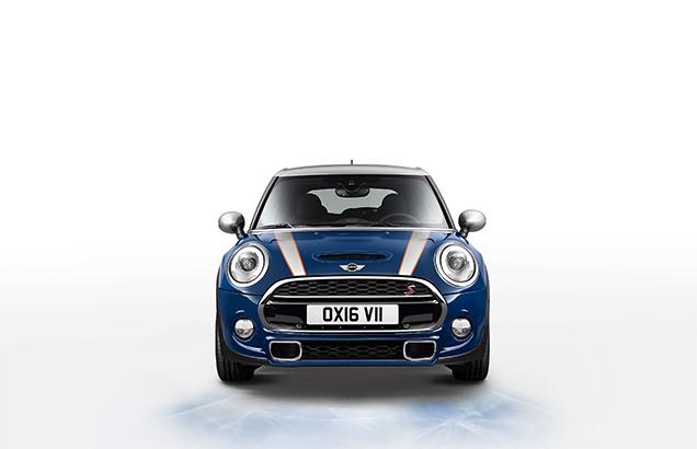 синий mini