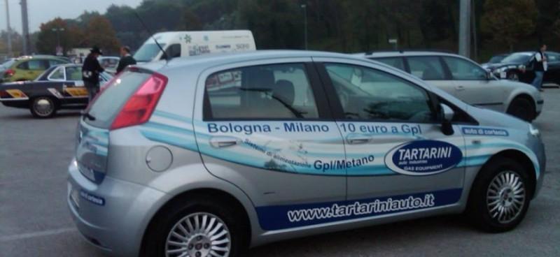 """Почти 843 км проедут от Сан-Марино до Монте-Карло через Сан-Ремо """"зеленые"""" автомобили."""