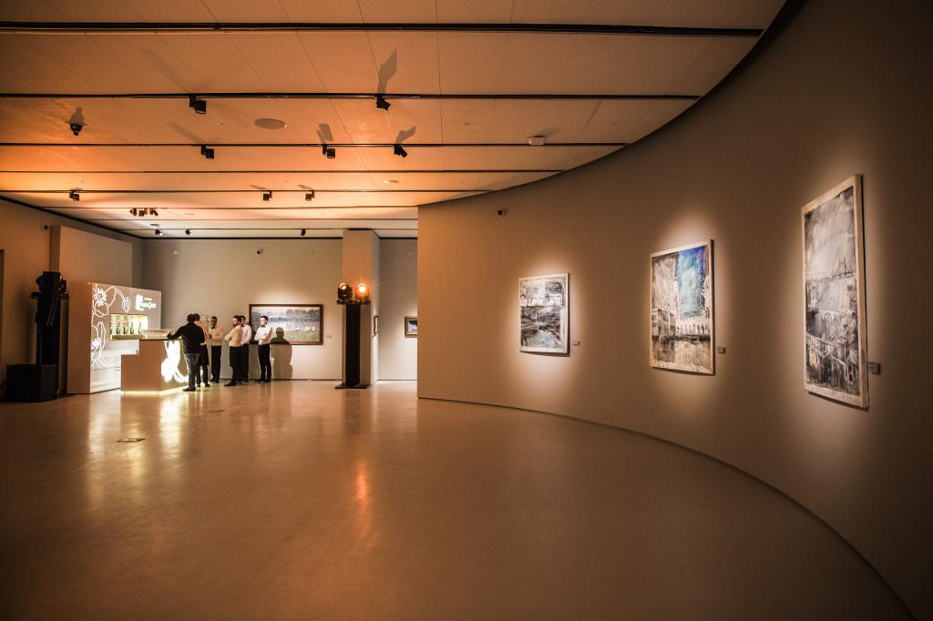 экспозиция в Музее русского импрессионизма