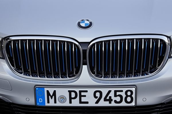 Новый BMW 740 Le xDrive.