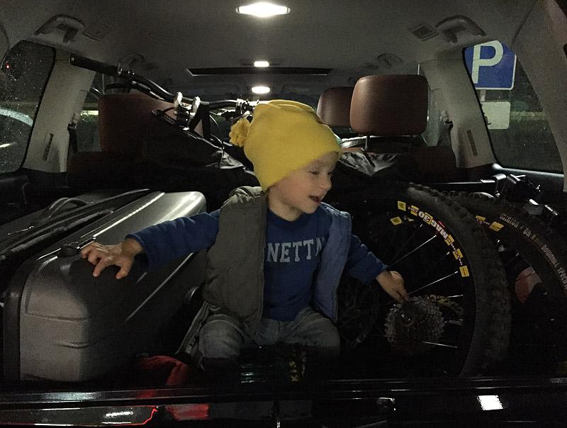 с ребенком в Сочи на машине