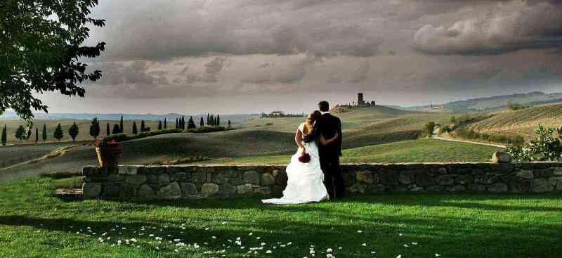 Свадьба в Тоскане.