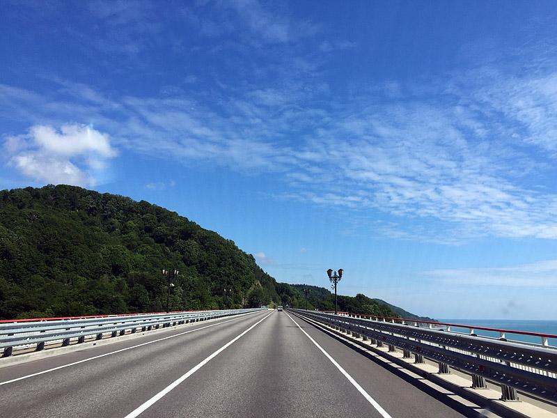 мост на дороге