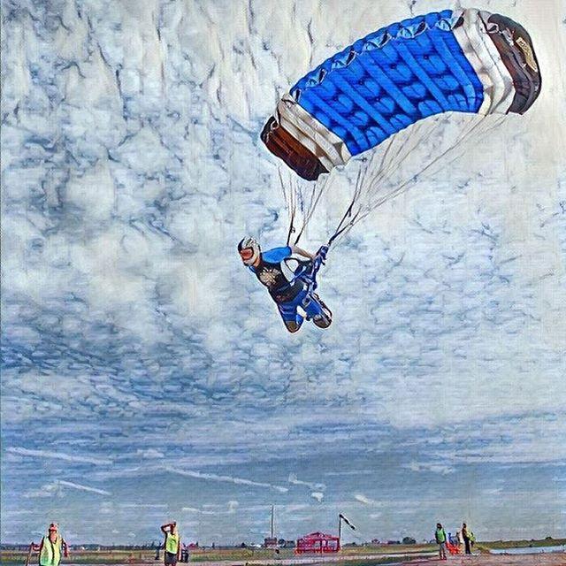 полёт на парашюте