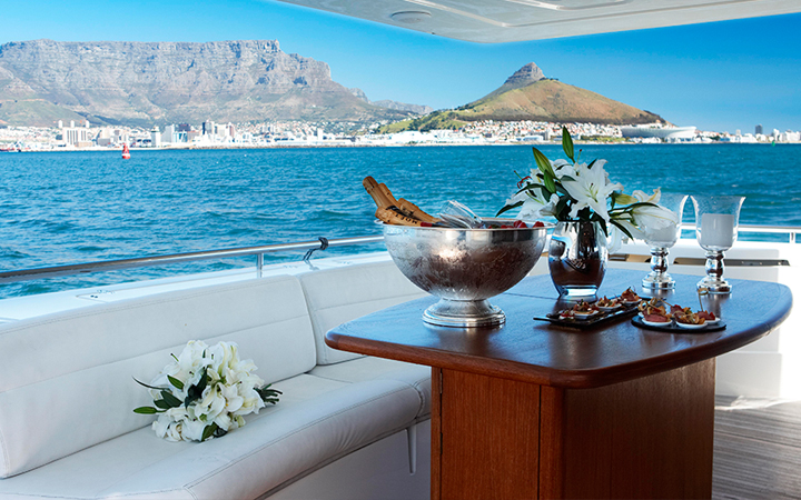 Свадьба в Кейптауне на яхте
