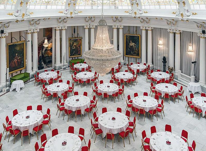 зал для свадебного торжества