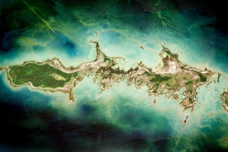 красивое фото земли из космоса