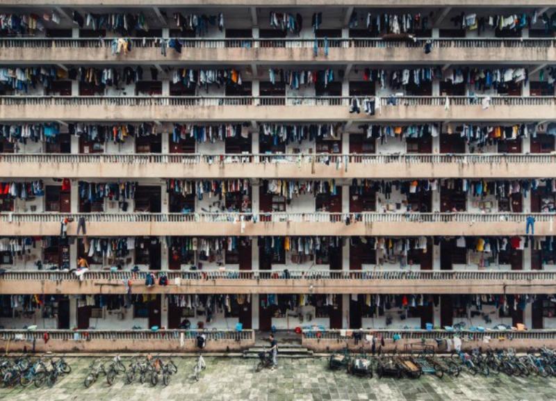"""""""Студенческое общежитие в китайском городе Гуанчжоу"""""""