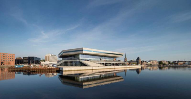 Культурный центр Dokk1, Орхус, Дания