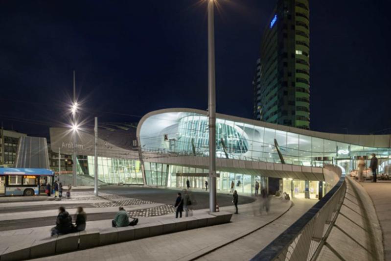 Вокзал города Арнем, Нидерланды