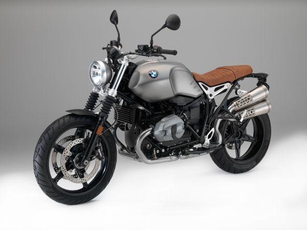 Новый BMW R nineT Scrambler.