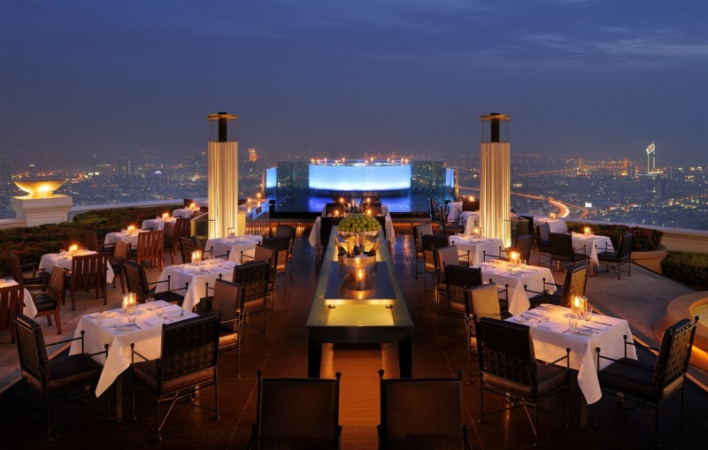 Sky Bar в Sirocco  - самый лучший в мире бар на крыше.