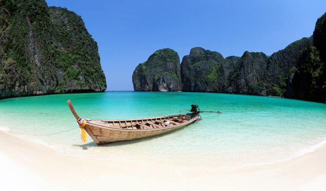 """Пхукет, знаменитый пляж из фильма """"Пляж"""" с Леонардо Ди Каприо"""