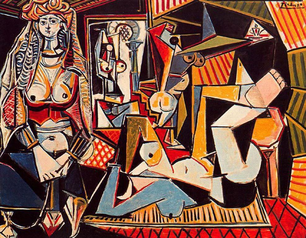 Пабло Пикассо, «Алжирские женщины. Версия О»