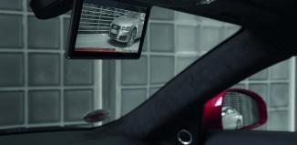 Камера заднего вида в салоне авто