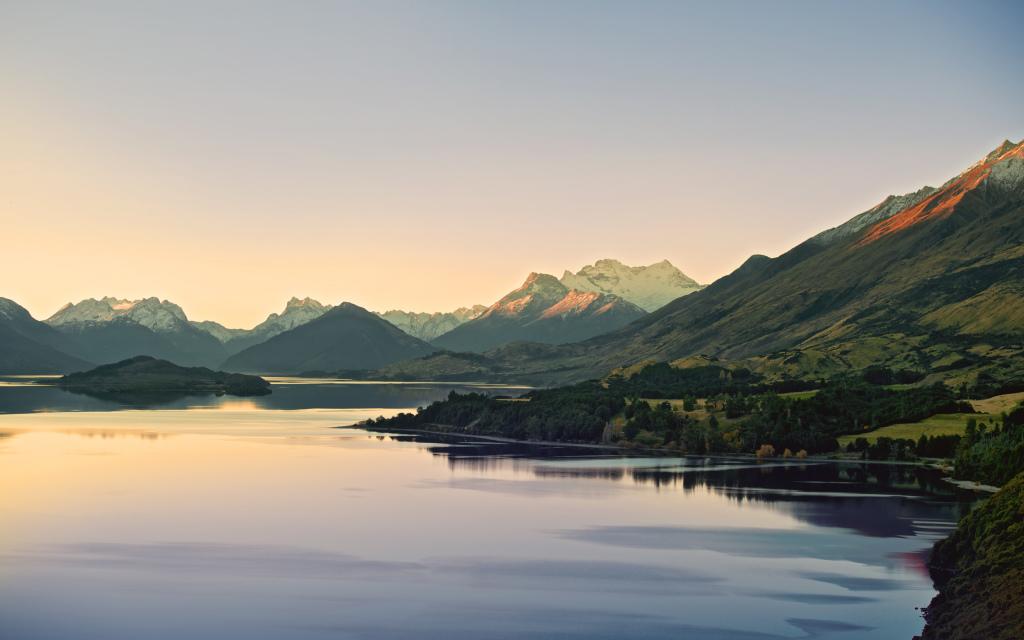 """Новая Зеландия, место съёмок """"Властелина Колец"""""""