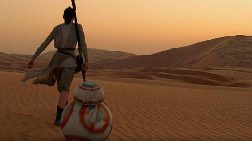 Абу-Даби, кадр из фильма «Звездные войны: Пробуждение силы»