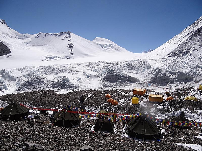 палатки на Эвересте