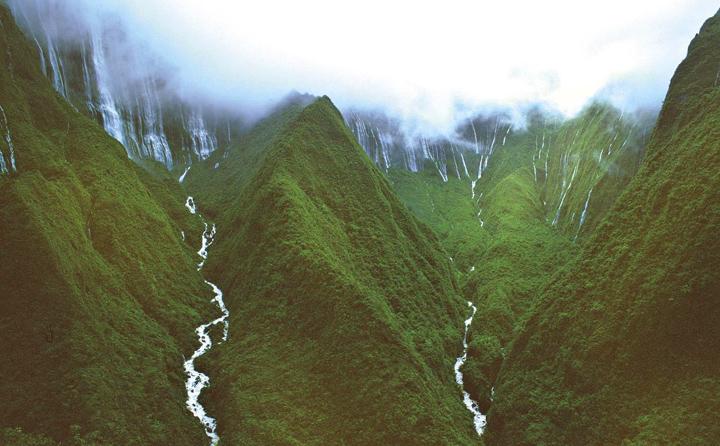 """Гавайи, один из пейзажей """"Парка юрского периода"""""""