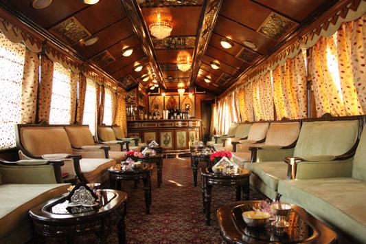 роскошый поезд