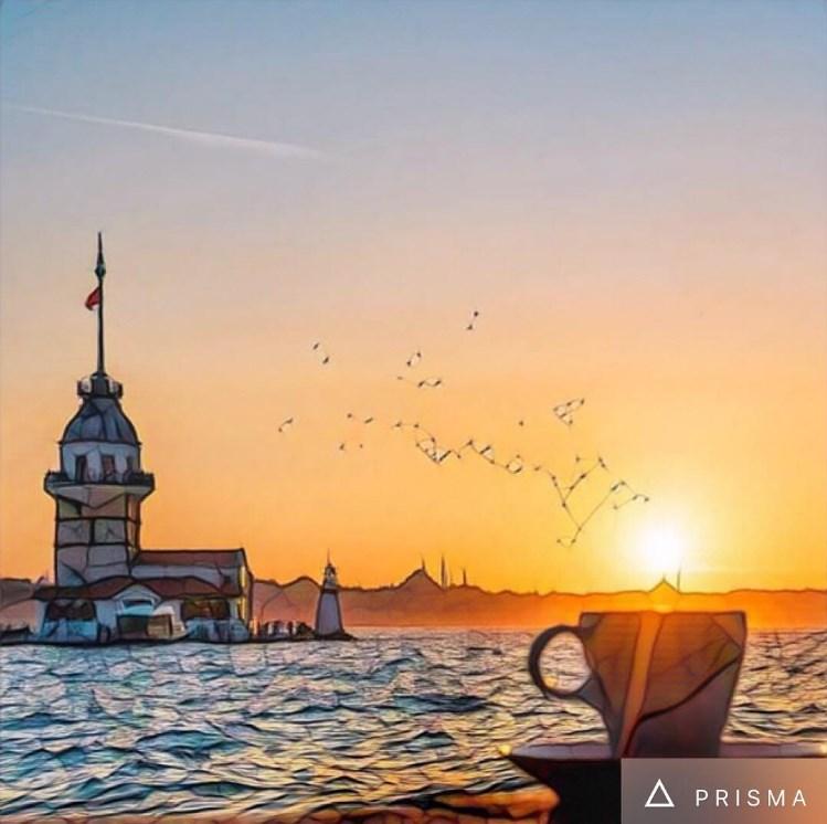 Фото Стамбула через Prisma