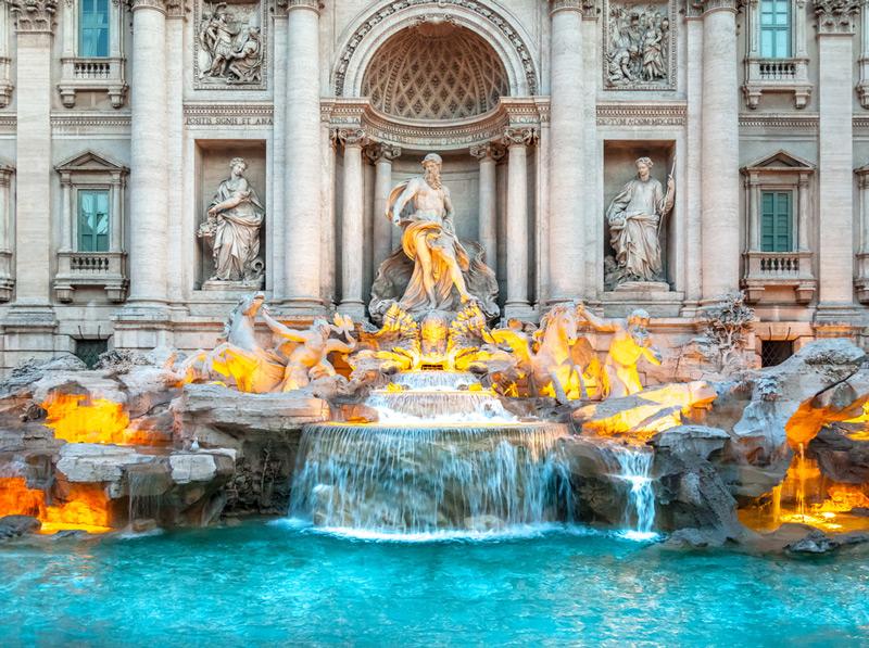 Фонтан Треви - самый красивый фонтан в мире