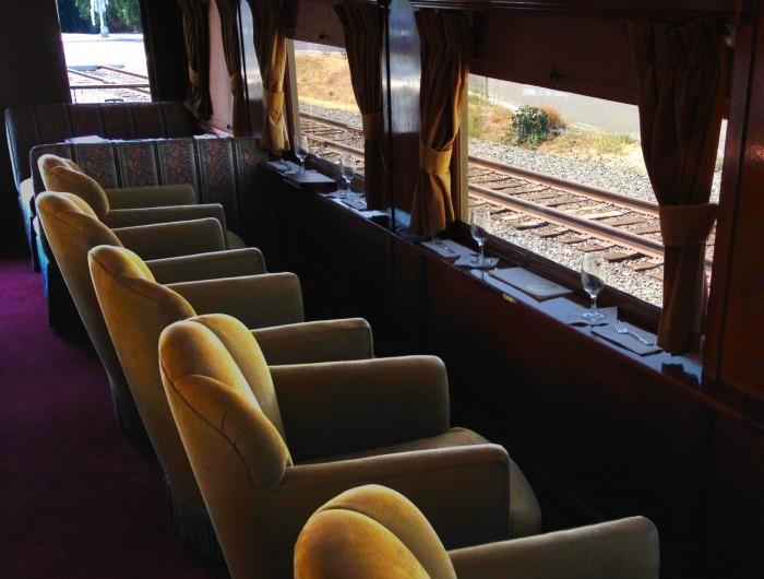 дегустация вина в поезде