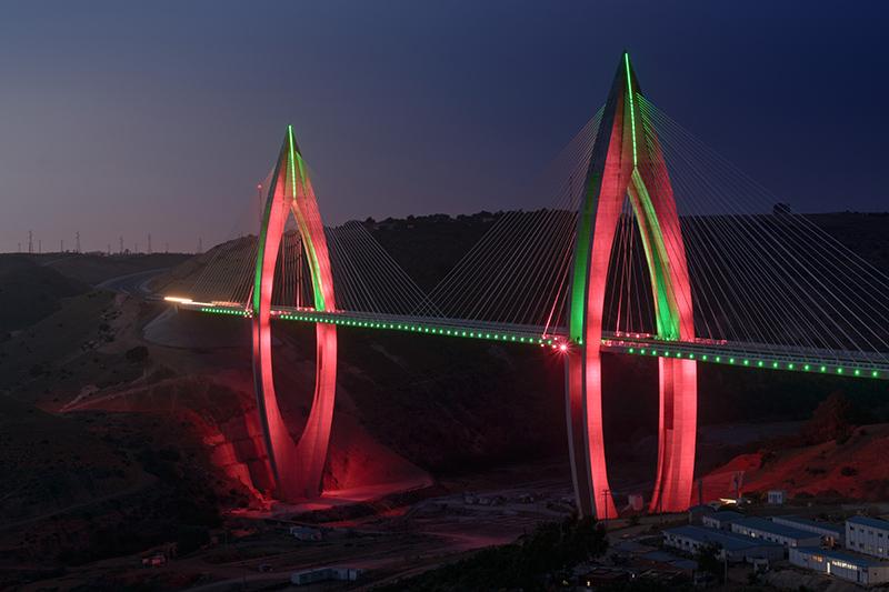 Самый длинный вантовый мост в Африке