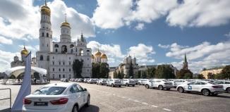 BMW для олимпийских чемпионов в Кремле