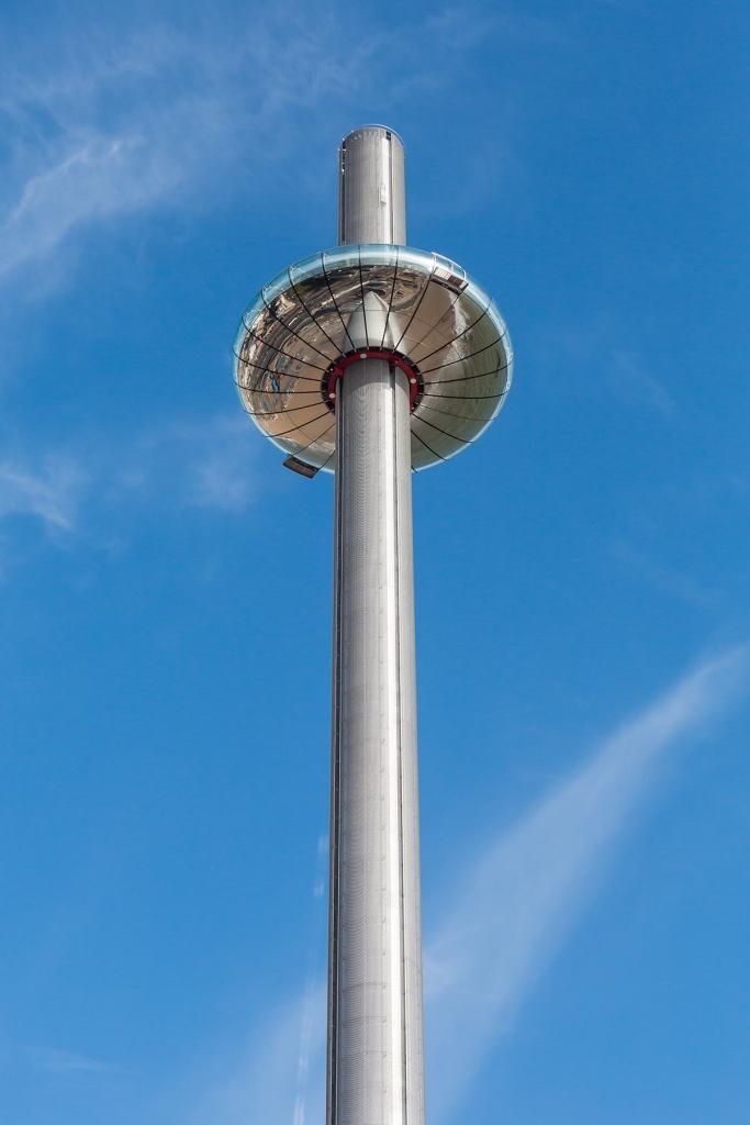 Смотровая башня i360 в Брайтоне