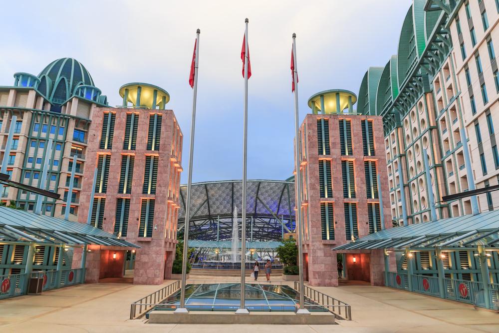 Отель Resorts World Sentosa в Сингапуре
