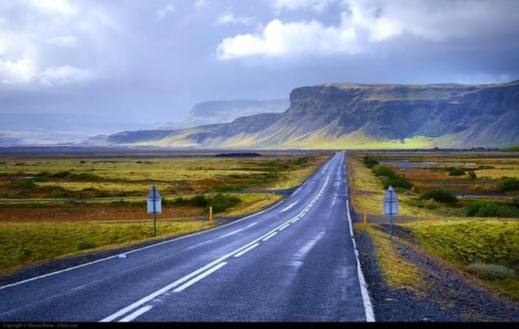Кольцевая дорога в Исландии