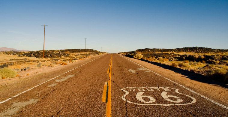 Шоссе-66 (Route 66) в США